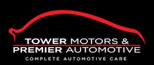 Tower Motors and Premier Automotive logo