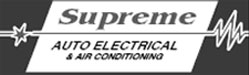 supreme auto electrical logo