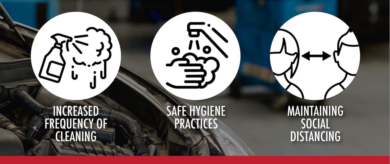 Premier Automotive 3 Hygiene logo header